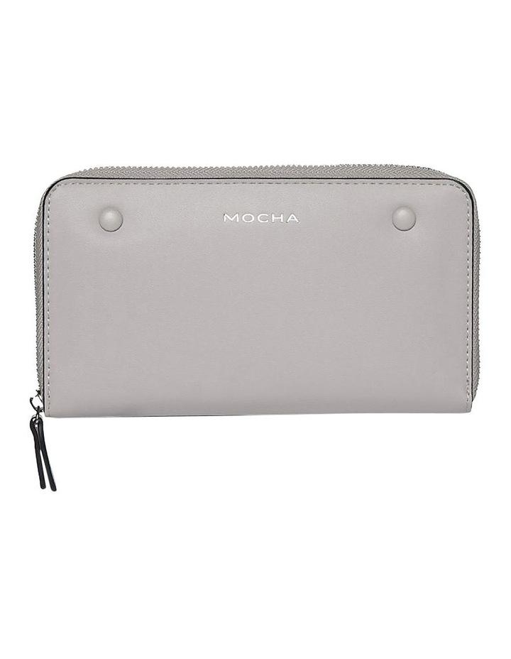 Robbi Zip Around Wallet Grey image 1