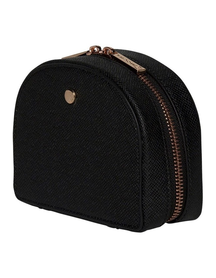 Small Kaia Jewellery Case - Black image 3