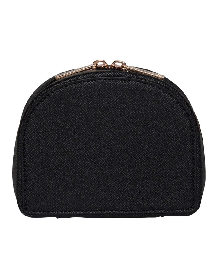 Small Kaia Jewellery Case - Black image 4