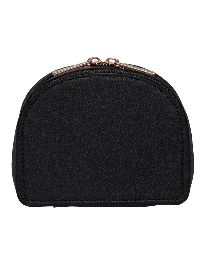 Small Kaia Jewellery Case - Black image 5