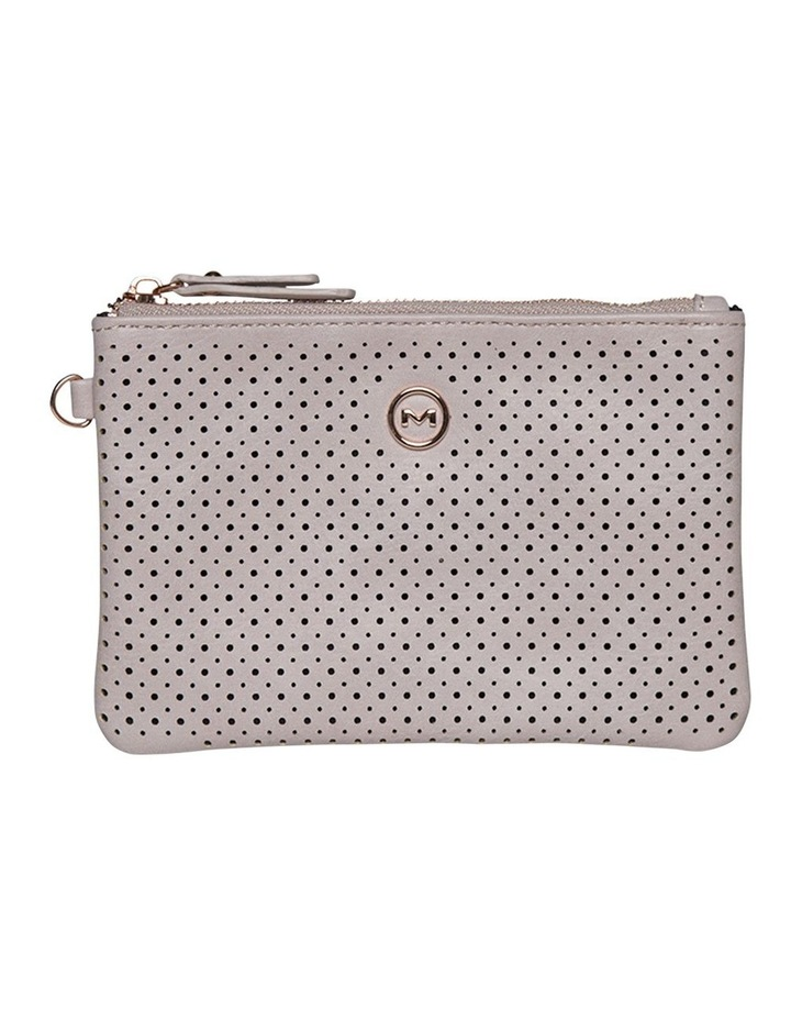 Perforated Take Me Coin Wallet-Blush image 2