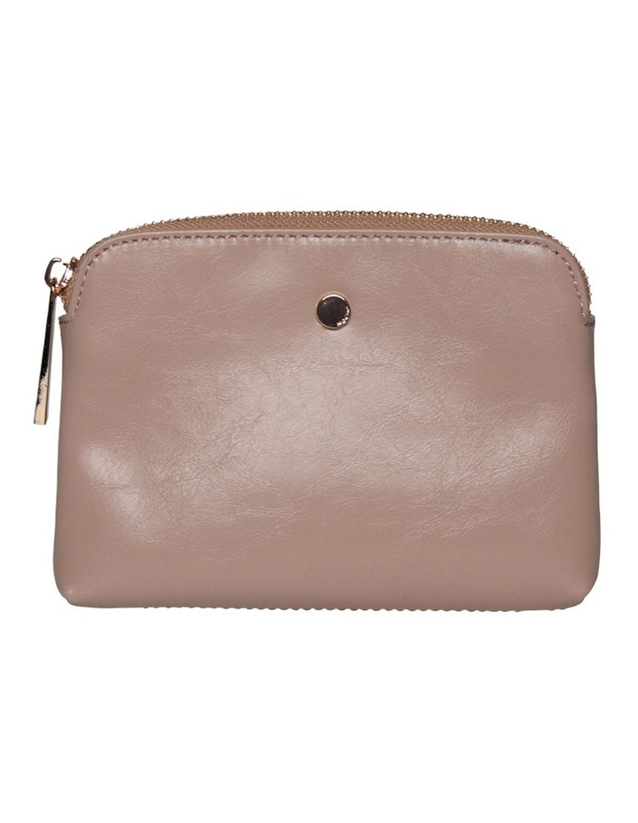 Sylvia Crinkled Patent Leather Coin Wallet - Blush image 2