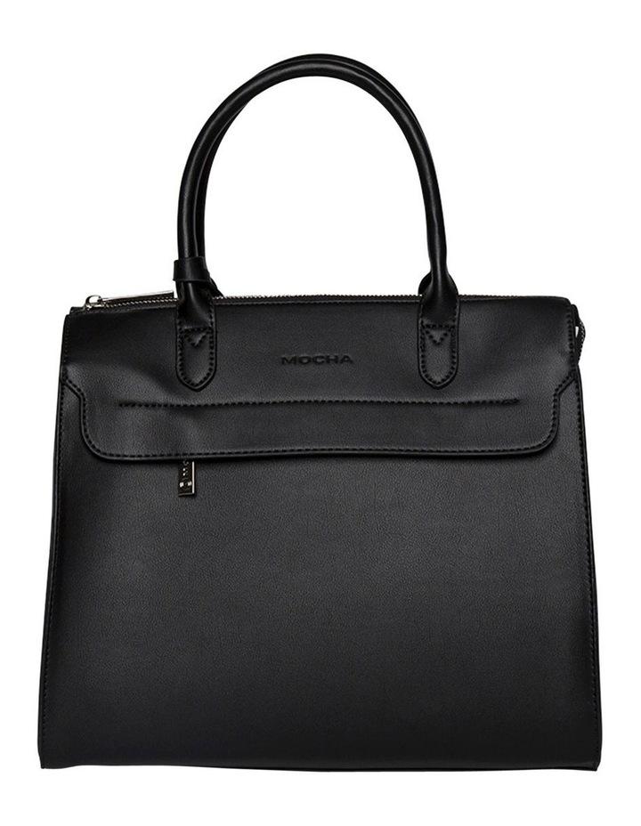 Constance Top Handle Crossbody Bag-Black image 1