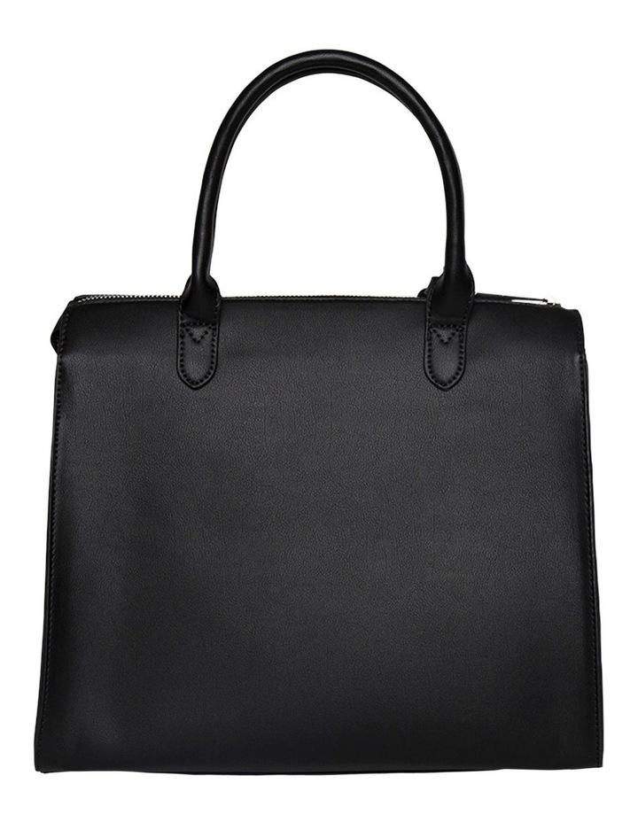 Constance Top Handle Crossbody Bag-Black image 3