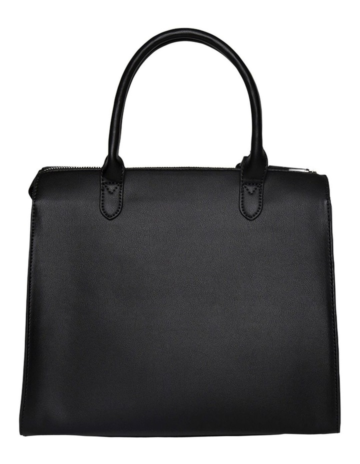 Constance Top Handle Tote Bag - Black image 2