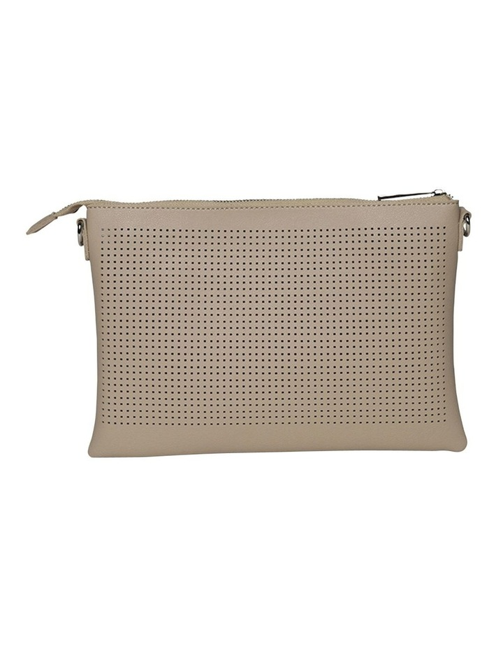 Elva Perforated Double Crossbody Bag - Sand image 3