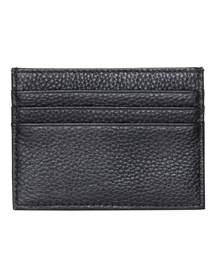 Leather Card Holder - Black image 2