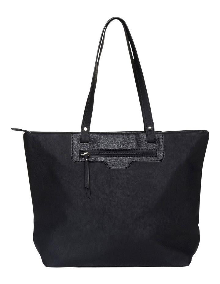 Ginni Top-Zip Tote Bag - Black image 2