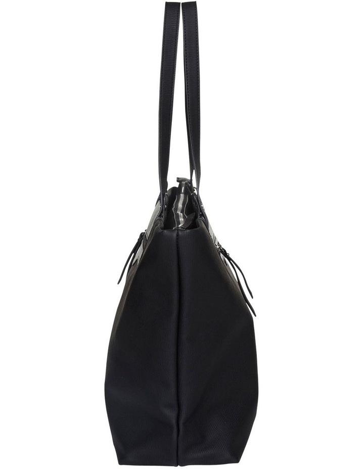 Ginni Top-Zip Tote Bag - Black image 3