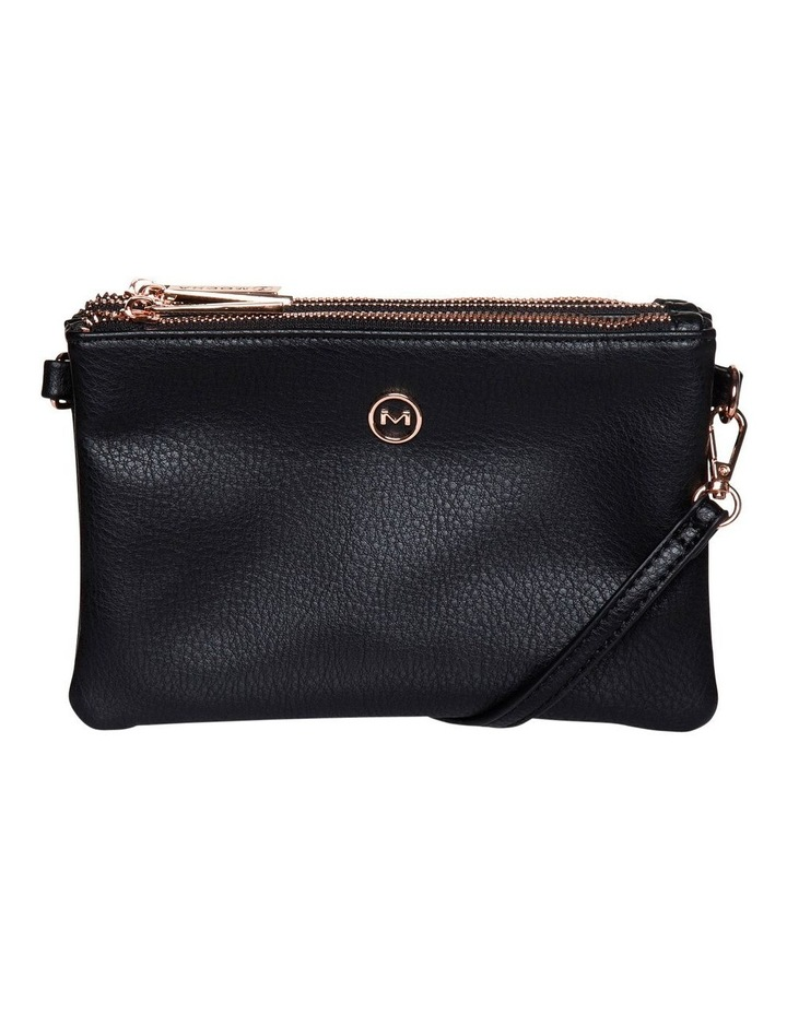 Mini Triple Jessie Crossbody Bags - Black image 1