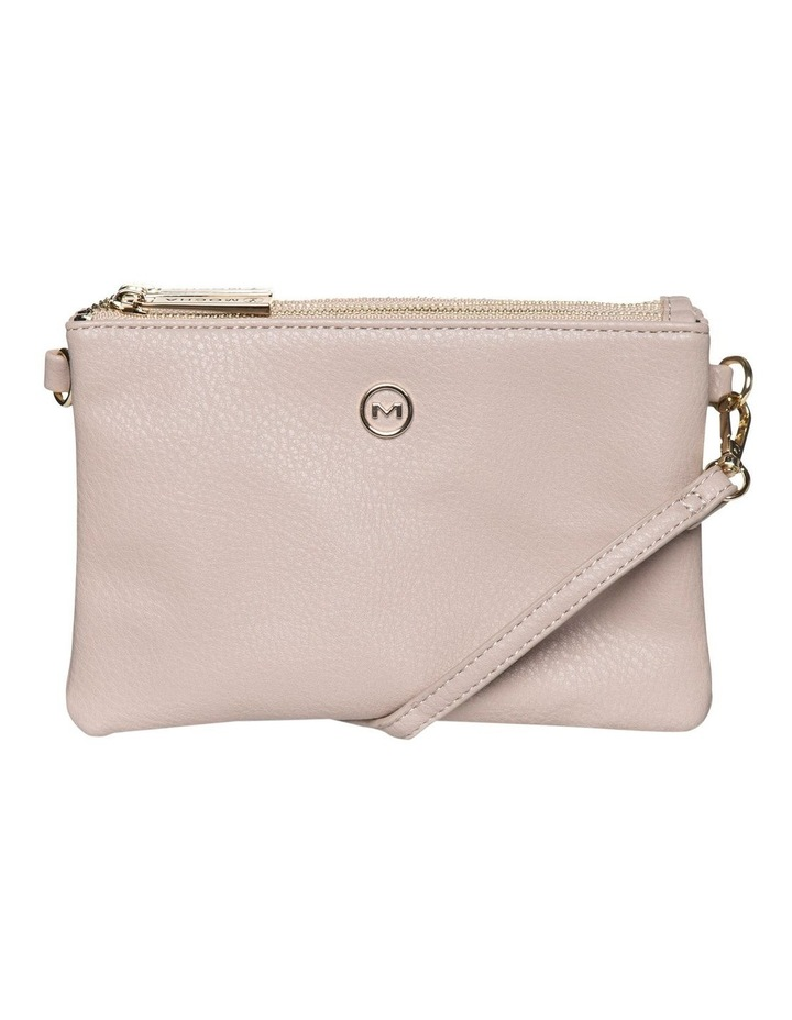 Mini Triple Jessie Crossbody Bags - Light Taupe image 1
