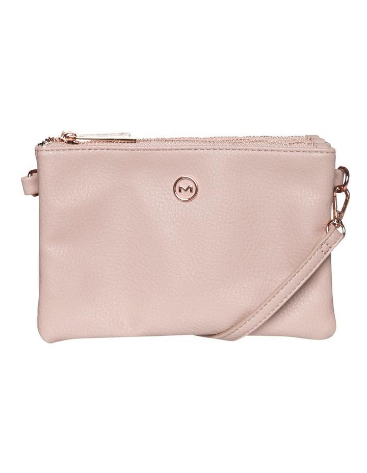 Mini Triple Jessie Crossbody Bags - Blush image 1