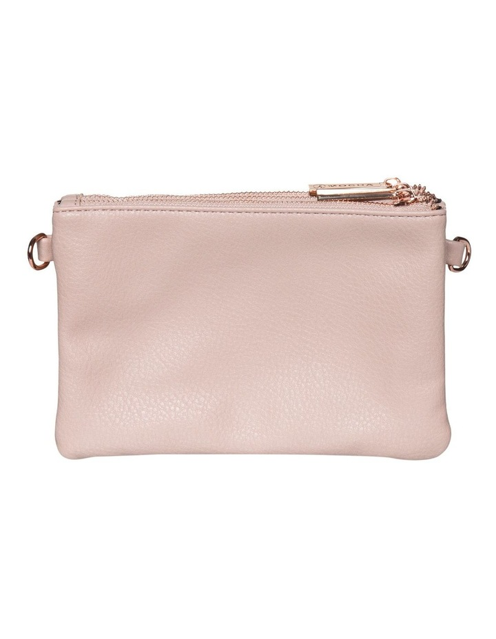 Mini Triple Jessie Crossbody Bags - Blush image 2