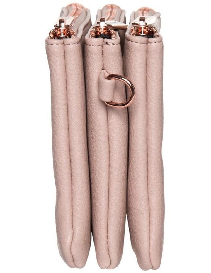 Mini Triple Jessie Crossbody Bags - Blush image 3