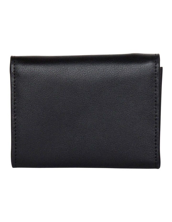 Brianna Leather Mini Coin Wallet - Black image 2