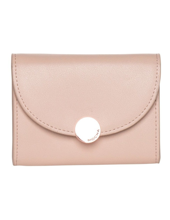Brianna Leather Mini Coin Wallet - Taupe image 1