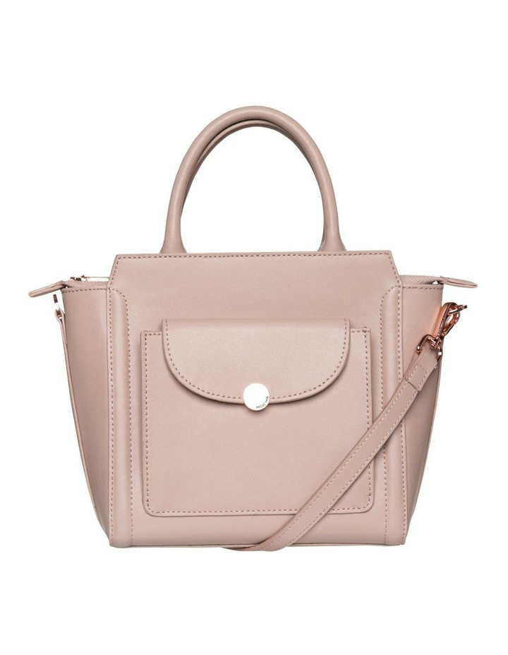 Brianna Top-Handle Leather Bag - Taupe image 2