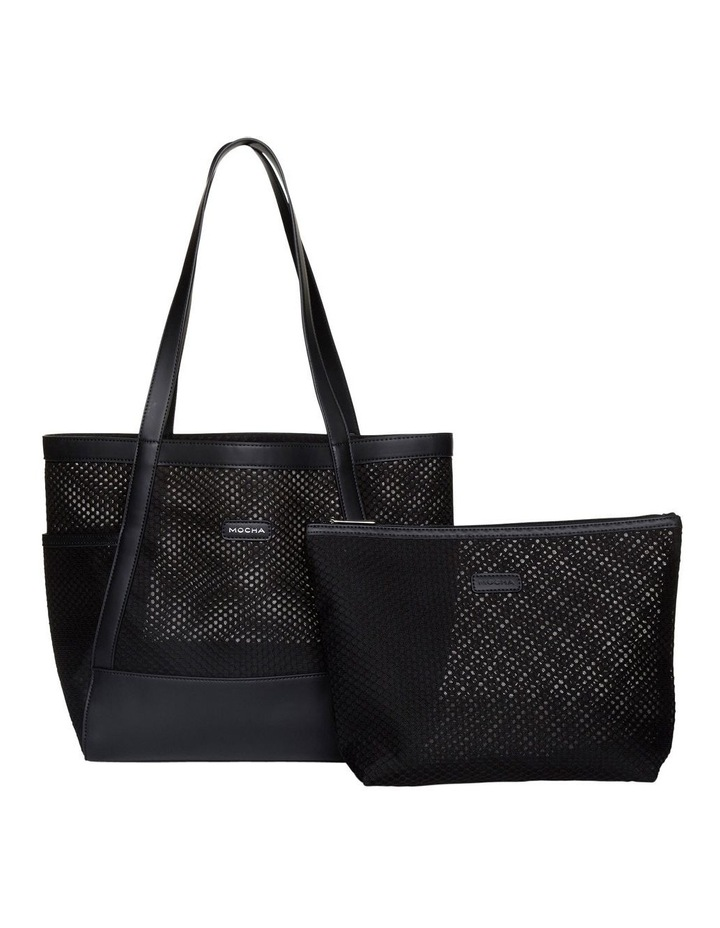 Summer Beach Bag - Black image 4