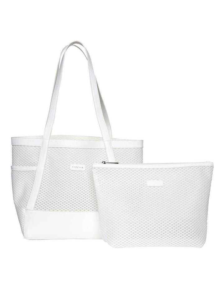 Summer Beach Bag - White image 4