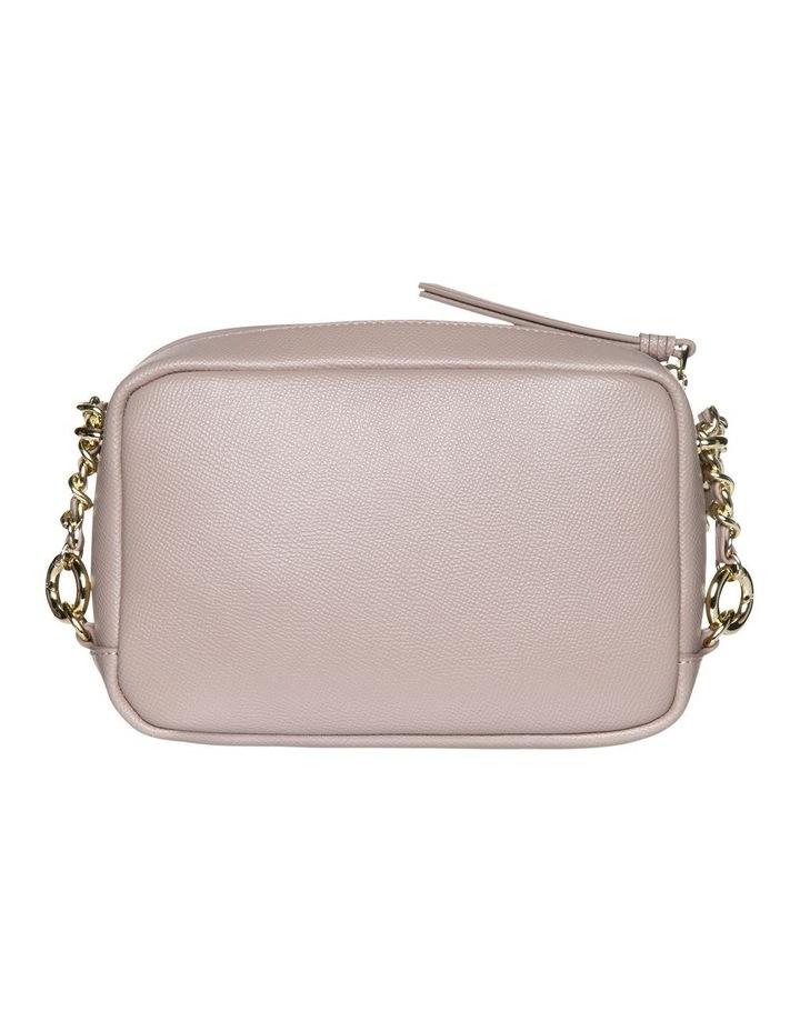 Premium Chain Leather Crossbody Bag - Taupe image 2
