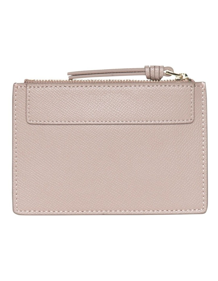 Premium Leather Coin Wallet - Taupe image 2