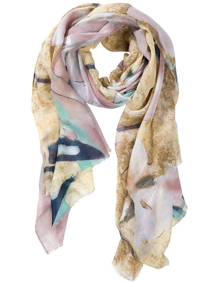 Florida Summer Scarf - Sand/Blush image 1
