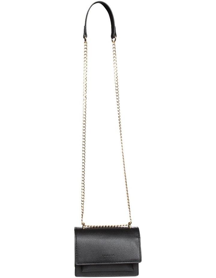Florence Chain Crossbody Bag - Black image 1