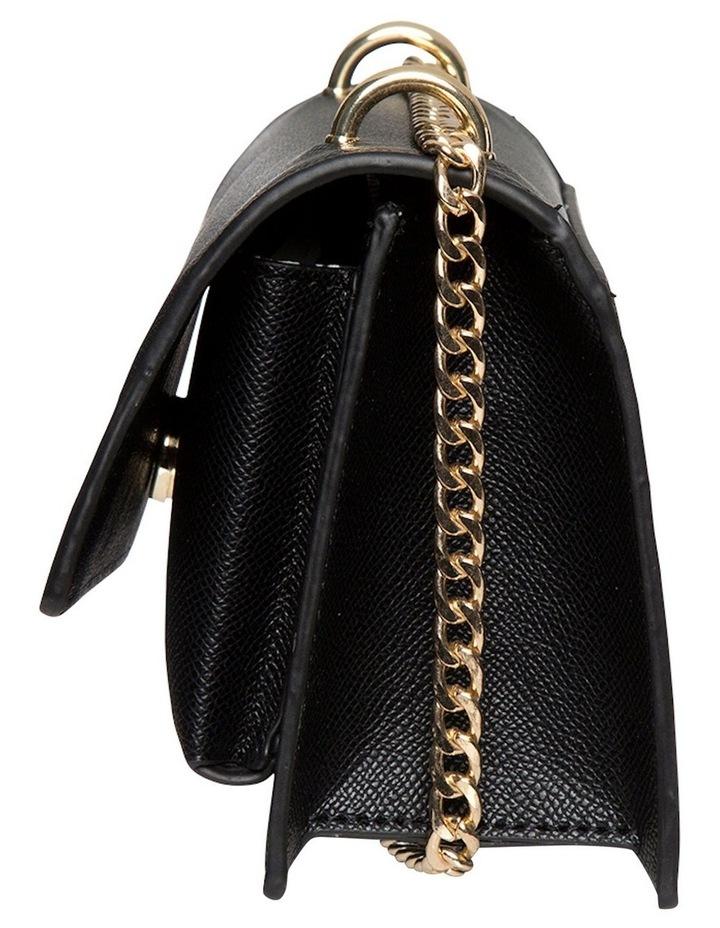 Florence Chain Crossbody Bag - Black image 3