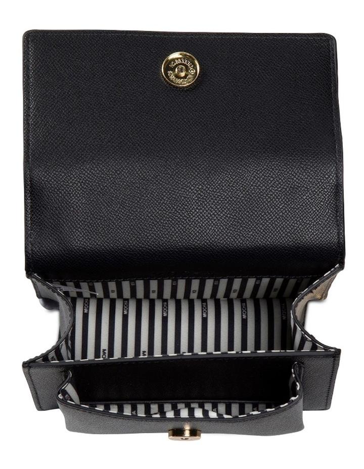 Florence Chain Crossbody Bag - Black image 4