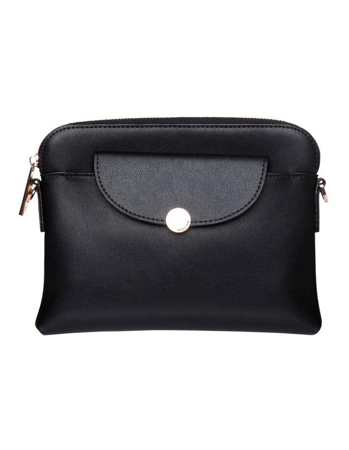 Brianna Leather Crossbody Bag - Black image 2
