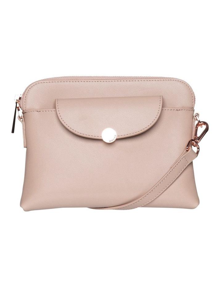 Brianna Leather Crossbody Bag - Taupe image 1