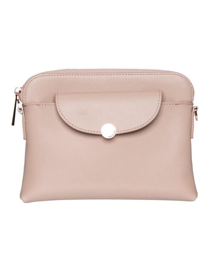Brianna Leather Crossbody Bag - Taupe image 2