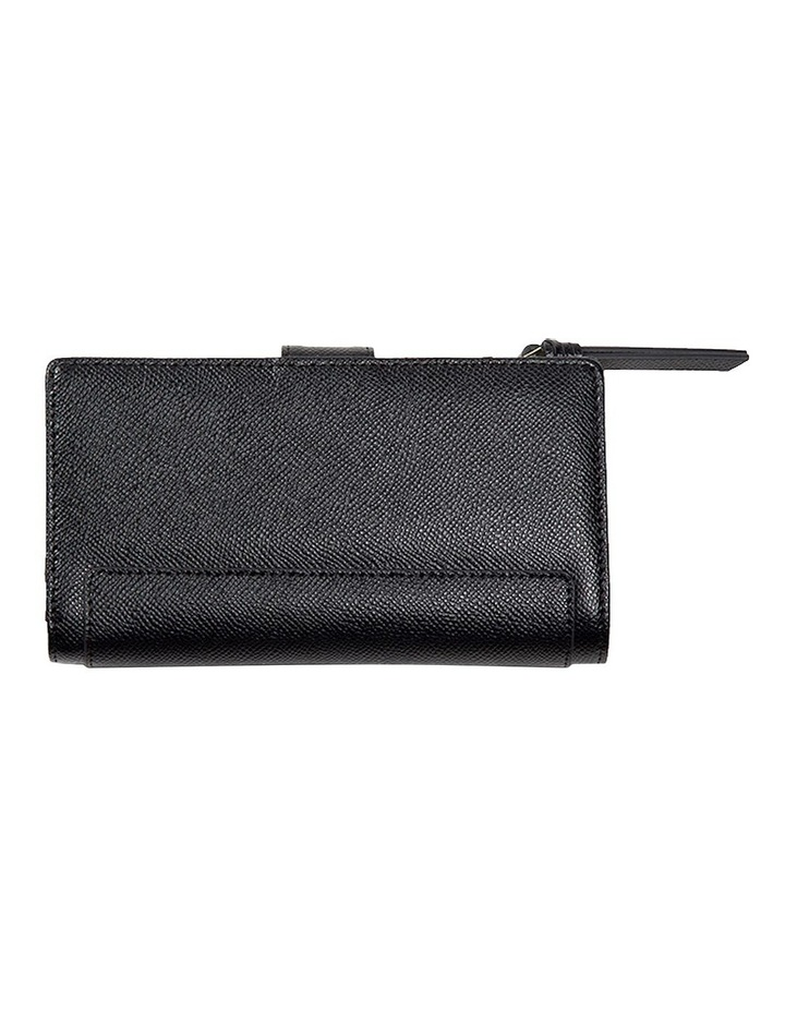 Premium Long Leather Wallet - Black image 3