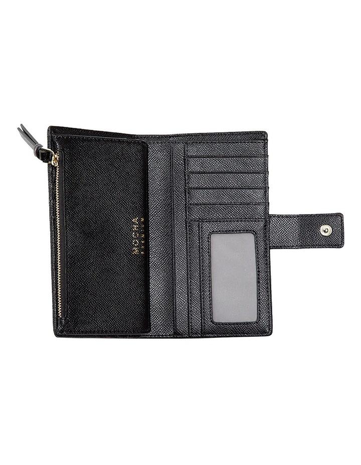 Premium Long Leather Wallet - Black image 4