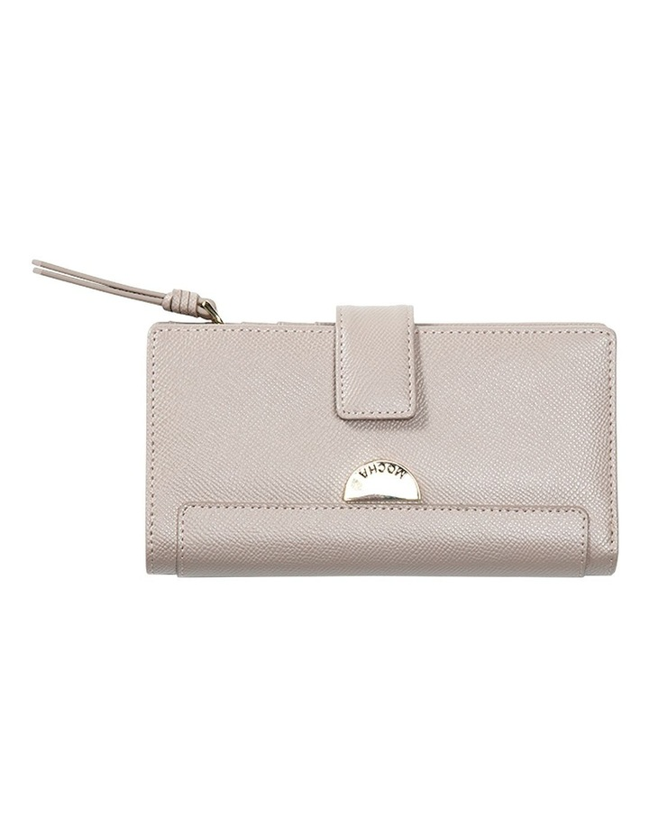 Premium Long Leather Wallet - Taupe image 1