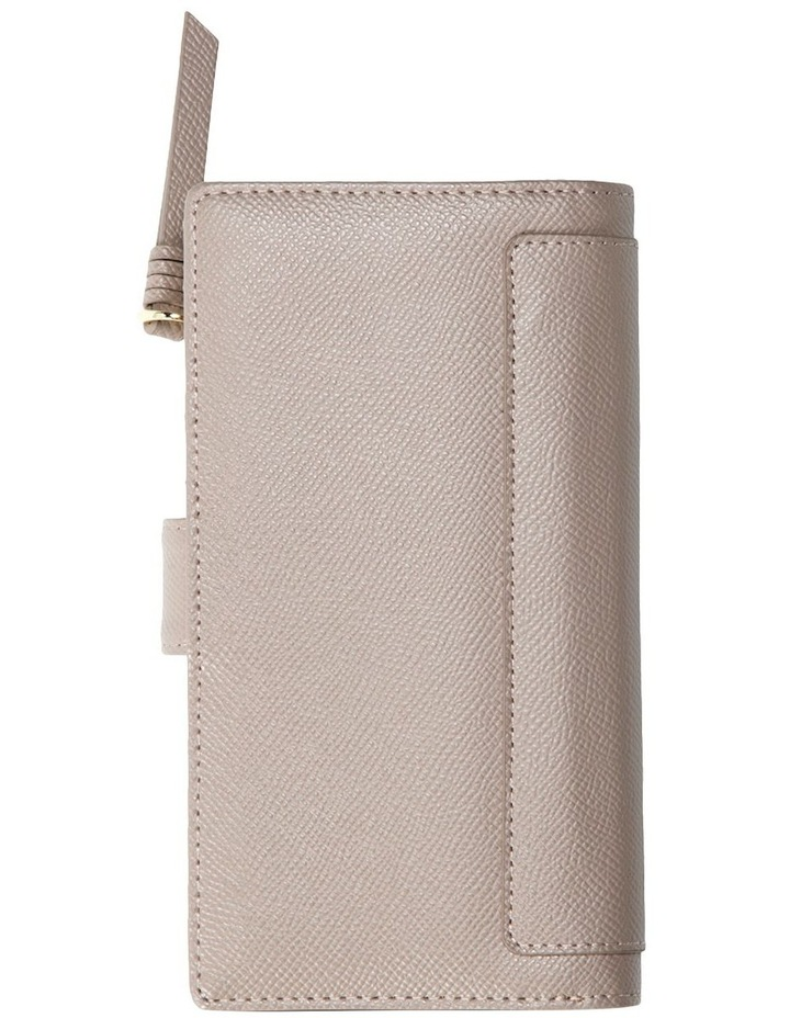 Premium Long Leather Wallet - Taupe image 2