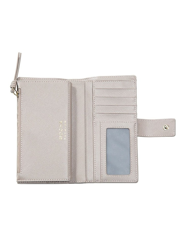 Premium Long Leather Wallet - Taupe image 4