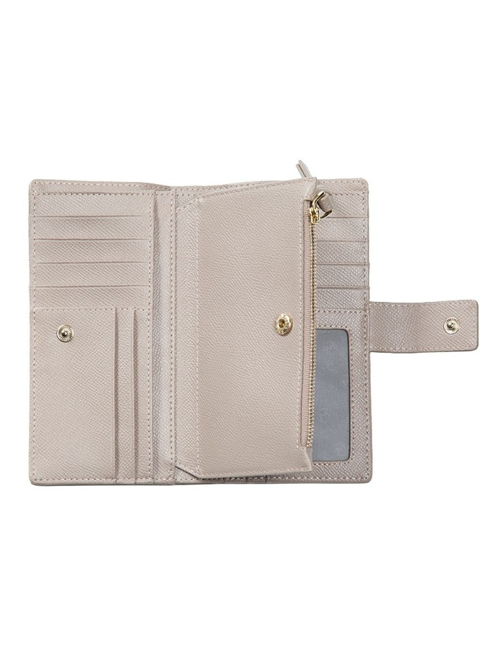 Premium Long Leather Wallet - Taupe image 5