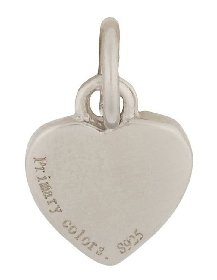 Sterling Silver Heart Charm - Silver image 1
