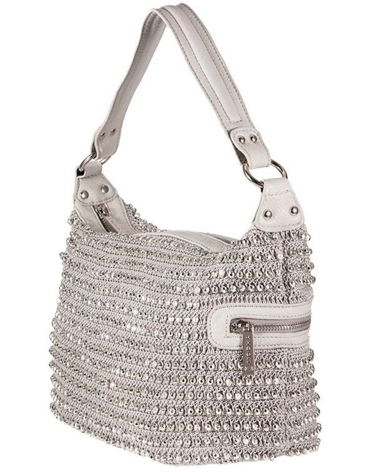 Beaded Eve Bag-Silver image 2