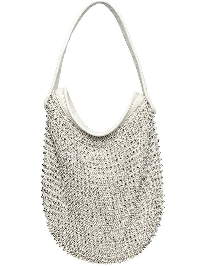 Beaded Lior Bag - Silver image 1