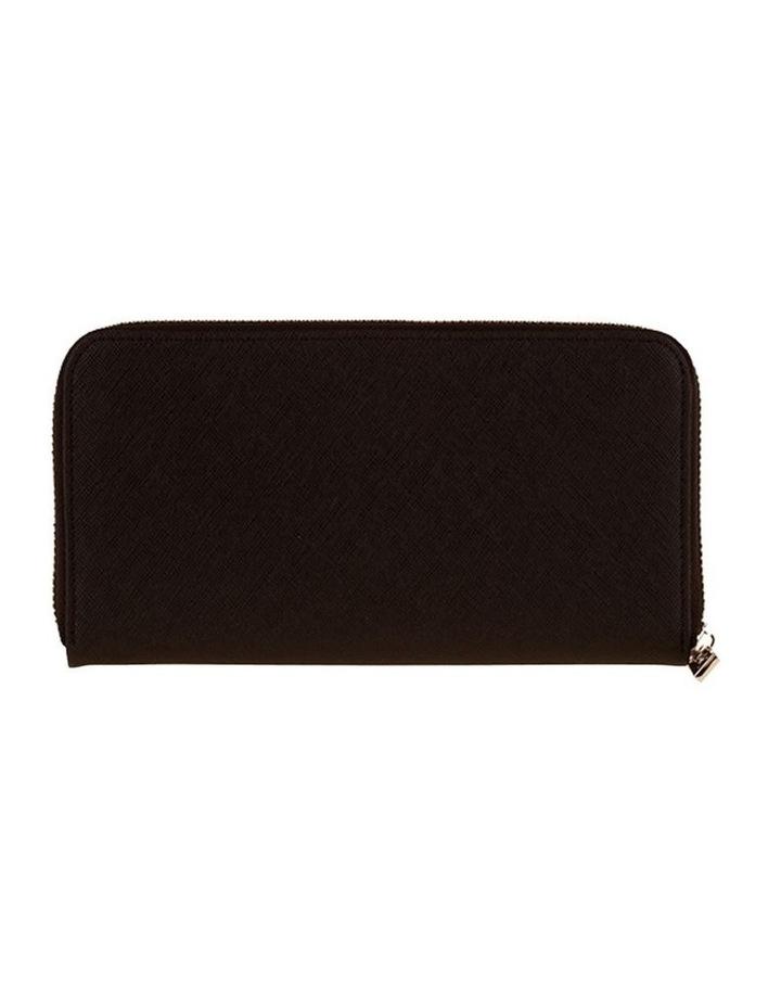 Kylie Leather Wallet - Black image 3