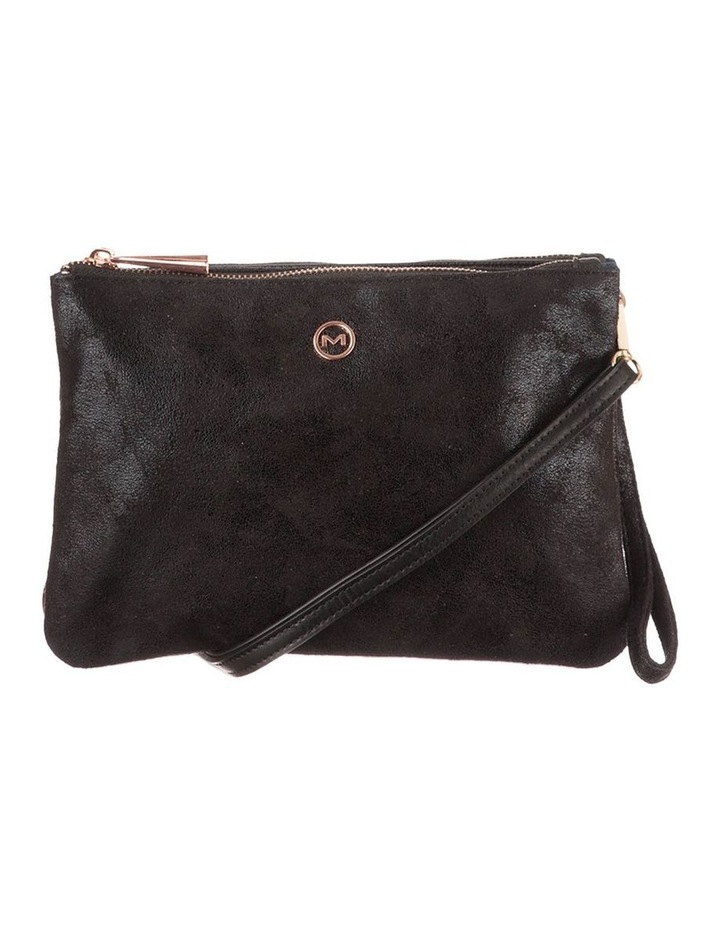 Jessie Crossbody Bag- Metallic Black image 1
