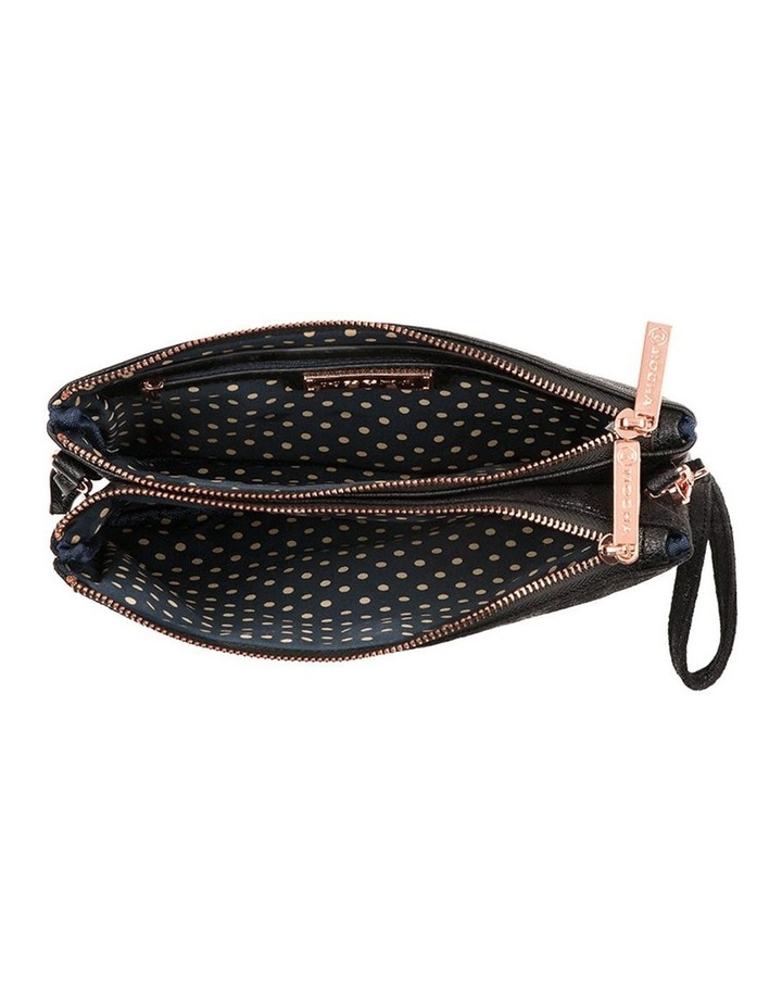 Jessie Crossbody Bag- Metallic Black image 2