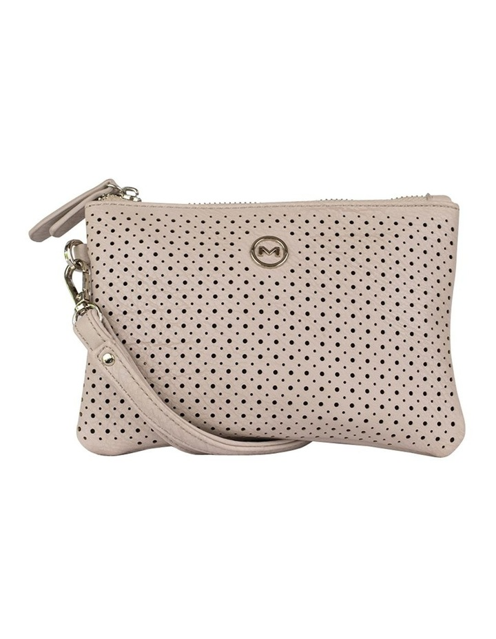 Perforated Take Me Coin Wallet - Grey image 1