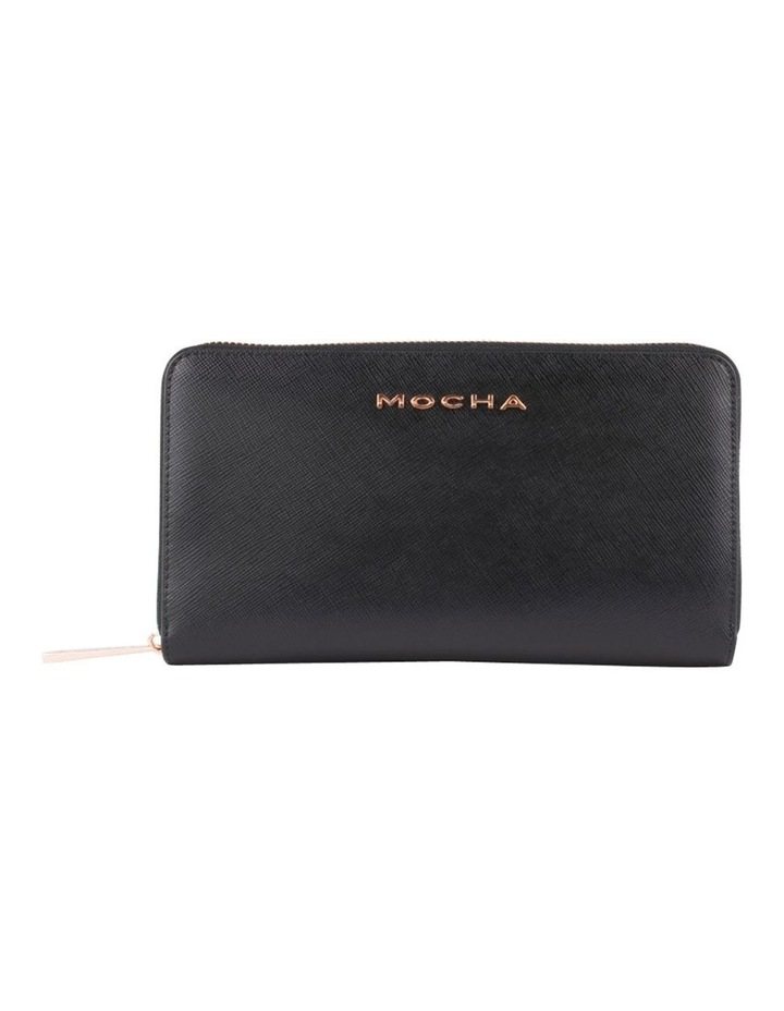 Olivia Leather Wallet - Black/Rg image 1