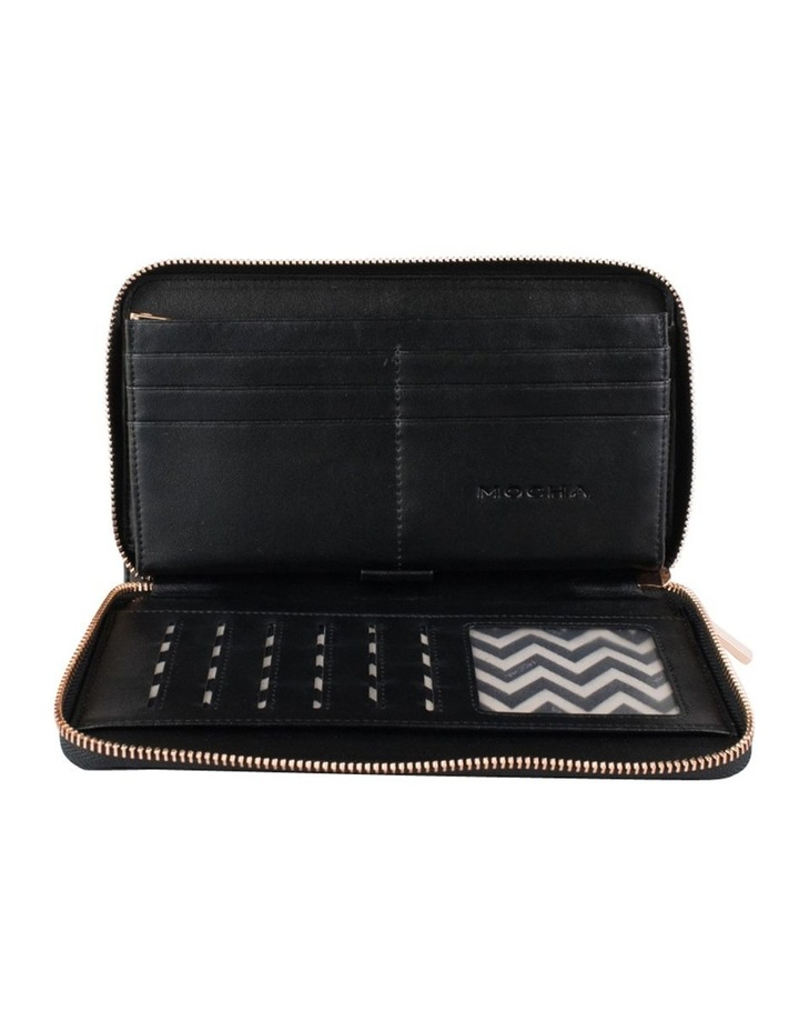Olivia Leather Wallet - Black/Rg image 2