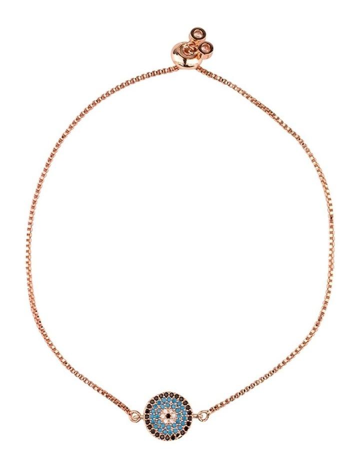 Small Circle Of Life Bracelet-Rosegold image 1