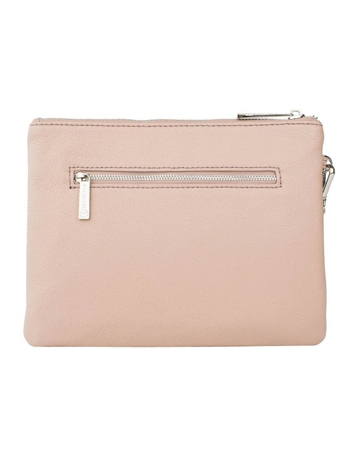Ella Leather Clutch-Taupe image 2
