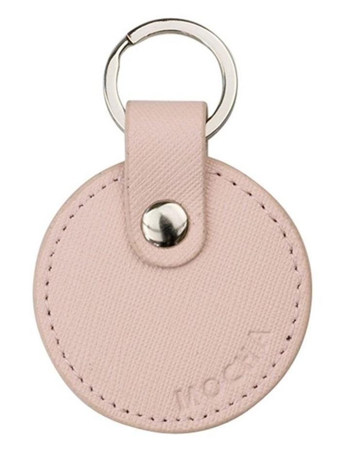 Jane Leather Key Ring - Blush image 1